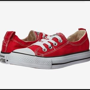 Converse All Star men red & white sneakers 11